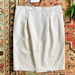 NEW Costume National Inverted Pleat Pencil Skirt